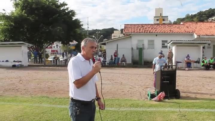 Cerimonial da final da Terceira Divisão de Florianópolis, sábado, no bairro Saco dos Limões
