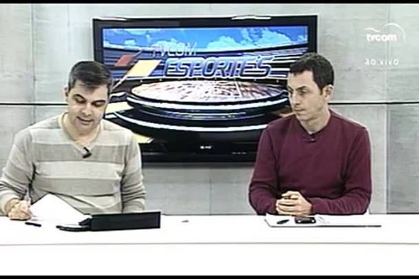TVCOM Esportes. 4º Bloco. 26.05.16