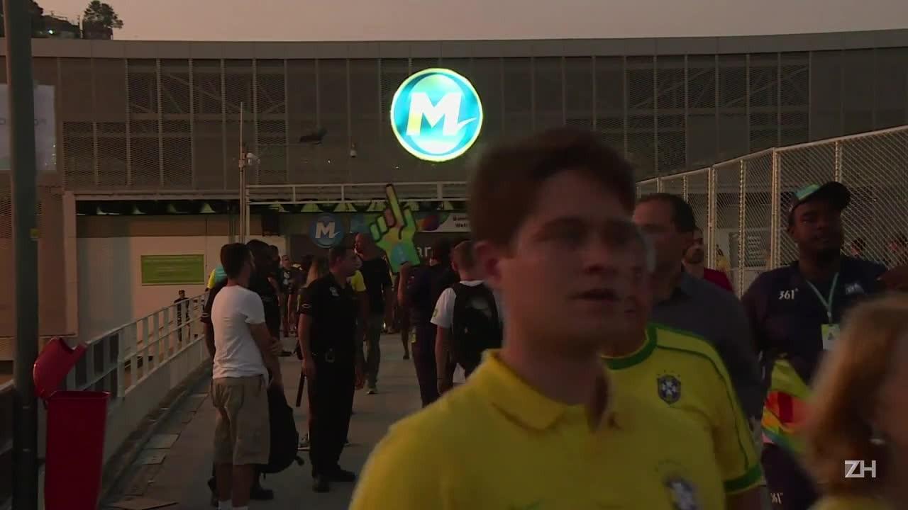Maracanã recebe espectadores de todo o mundo
