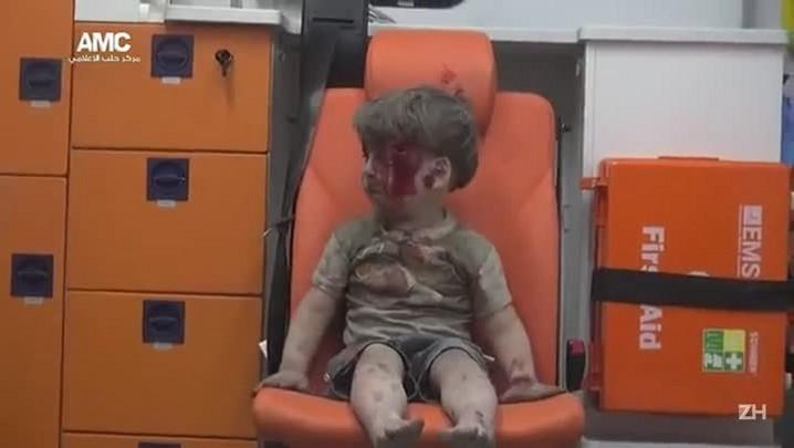 Guerra na Síria: o resgate do menino Omran