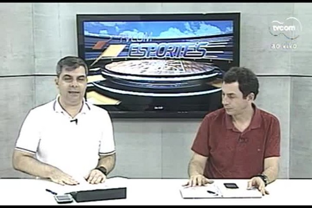 TVCOM Esportes. 2º Bloco. 01.09.16