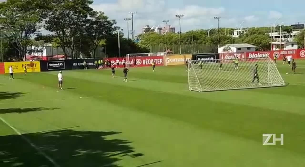Inter define time para jogo contra o Fluminense