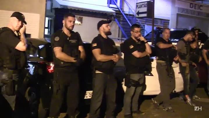 Polícia prende quadrilha que explodia bancos