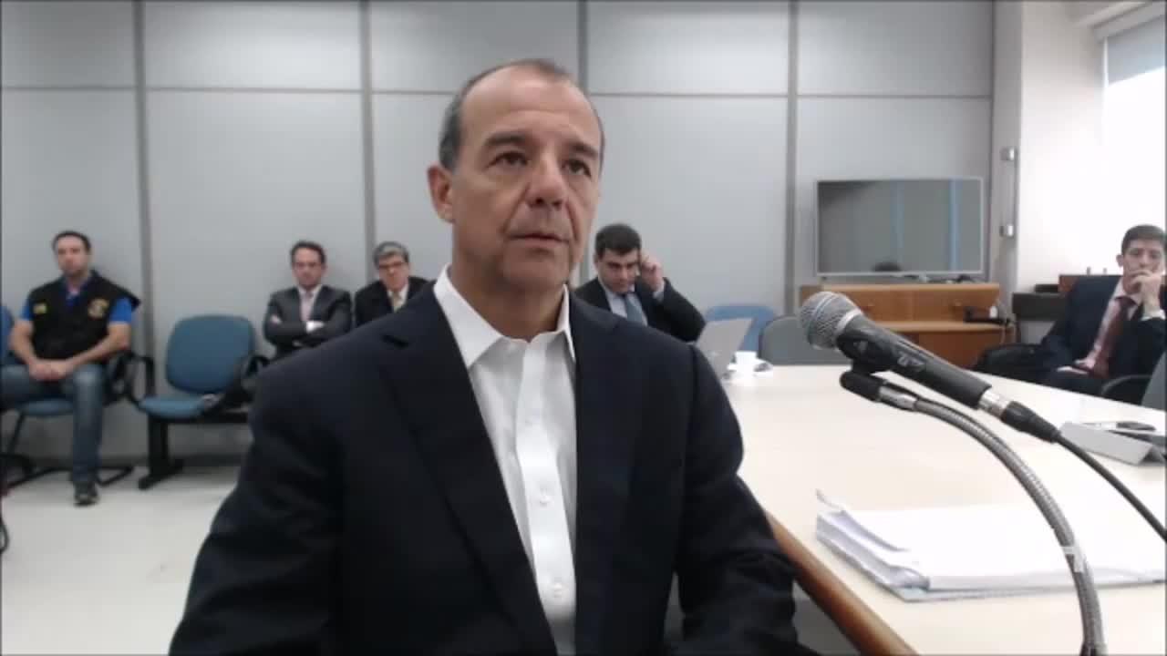 Depoimento de Sérgio Cabral ao juiz Sergio Moro