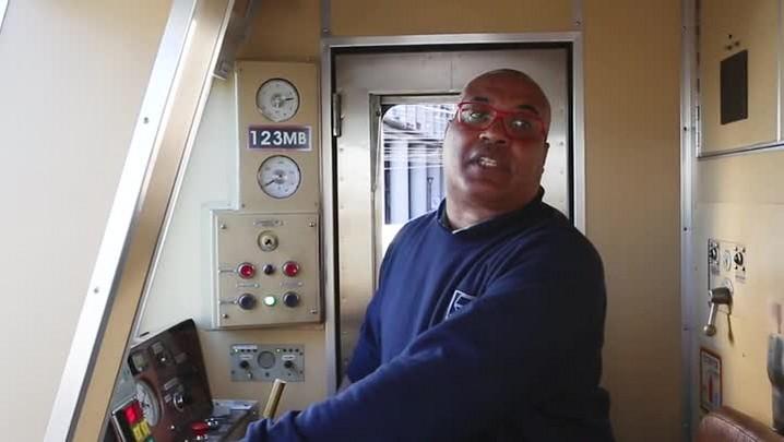 Conheça o maquinista mais animado do Trensurb