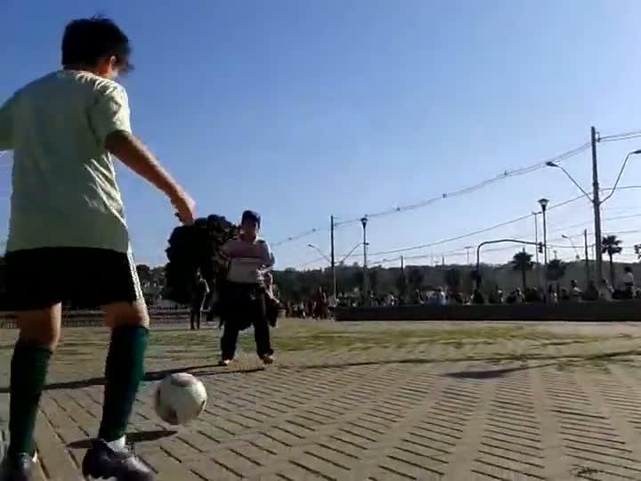 Seletiva regional de Porto Alegre do projeto Peneirinha Gillette