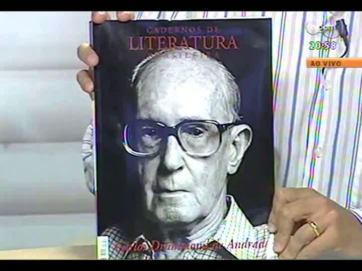 TVCOM Tudo Mais - Publicação homenageia o poeta Carlos Drummond de Andrade