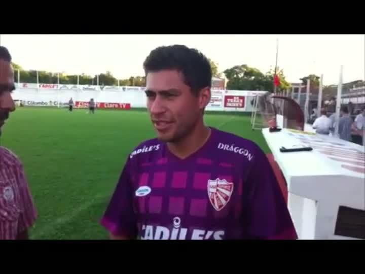 Jogo Rápido: Marcos Paraná, meia do São Luiz, fala sobre lesão e o time do Inter. 07/03/2013