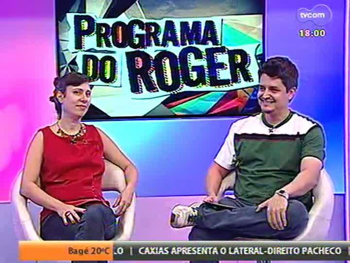 Programa do Roger - Lerina entrevista a fotógrafa Fernanda Chemale e o designer Régis Duarte - bloco 2 - 12/03/2013