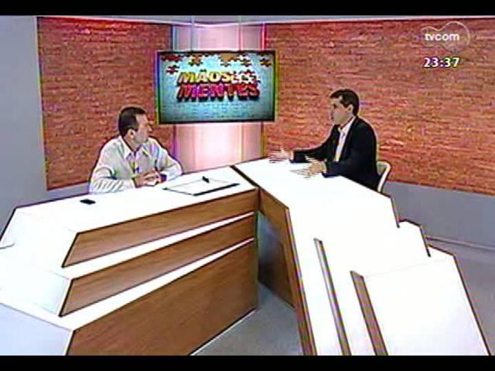 Mãos e Mentes - Presidente da Piá, Gilberto Kny - Bloco 1 - 18/03/2013