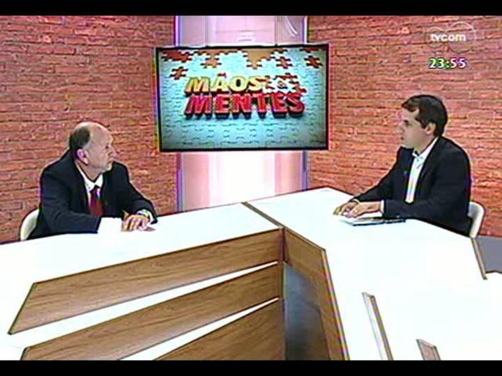 Mãos e Mentes - Sócio-diretor da revista Conexão Marítima e organizador da Feira do Polo Naval RS, Jayme Lima Ramis - Bloco 4 - 27/03/2013