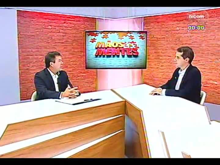 Mãos e Mentes - Pós-graduado em Gestão Estratégica e diretor da Docile, Ricardo Heineck - Bloco 3 - 22/04/2013