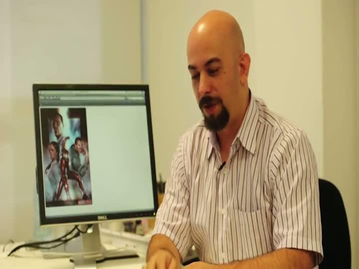 Making of - arte do Homem de Ferro no DC