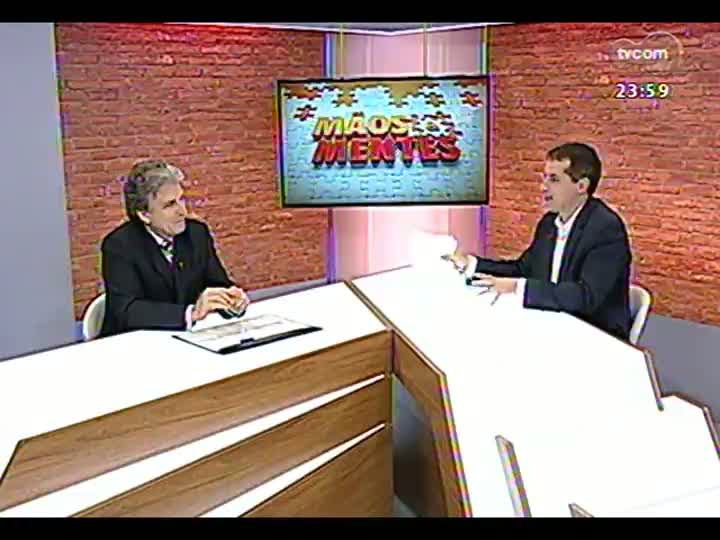 Mãos e Mentes - Chefe de Oncologia do HCPA, Gilberto Schwartsmann - Bloco 3 - 30/05/2013