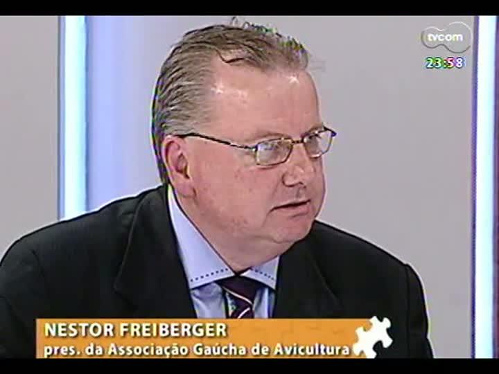 Mãos e Mentes - Presidente da Associação Gaúcha de Avicultura, Nestor Freiberger - Bloco 3 - 18/06/2013