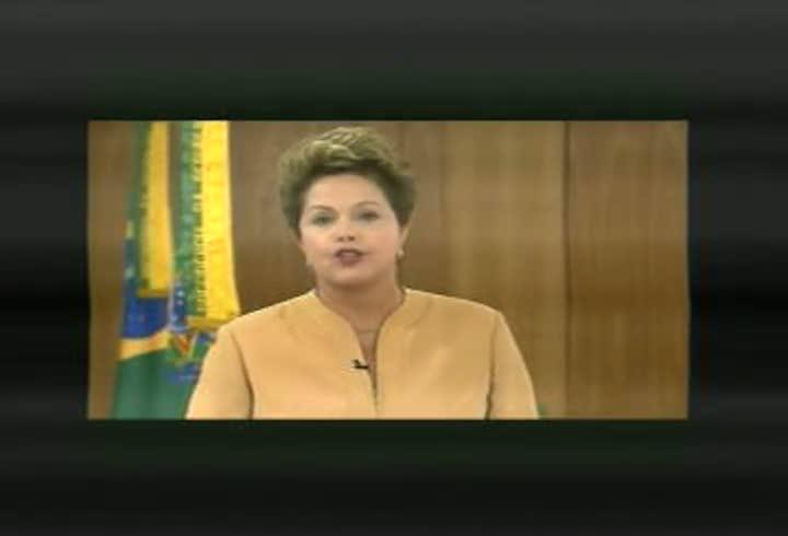 Pronunciamento da presidente Dilma Rousseff