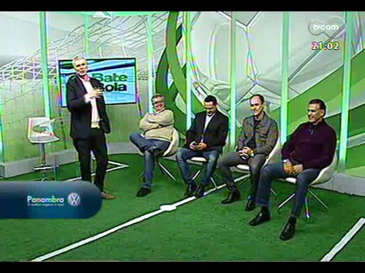 Bate Bola - Copa das Confederações e novidades da dupla Gre-Nal - Bloco 1 - 23/06/2013