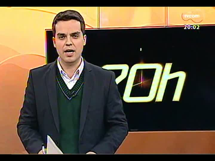 TVCOM 20 Horas - Implosão do Olímpico: saiba qual a área que deve ser evacuada no entorno do estádio - Bloco 1 - 24/07/2013