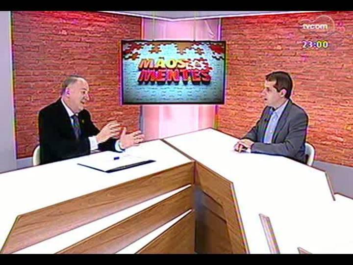 Mãos e Mentes - Presidente da Confederação Nacional dos Municípios, Paulo Ziulkoski - Bloco 1 - 04/08/2013