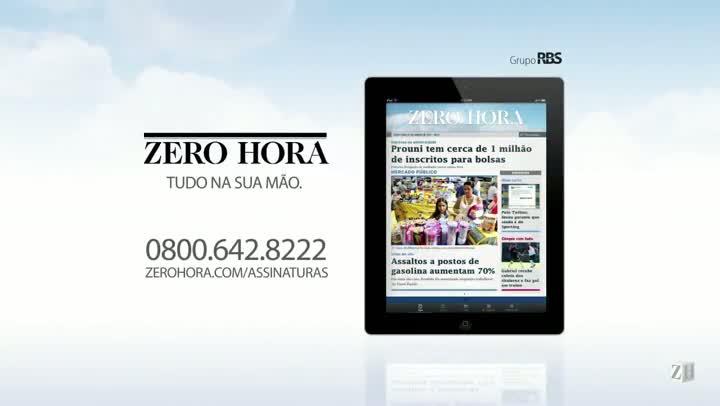 Leia na Zero Hora desta sexta-feira (16/08/2013)