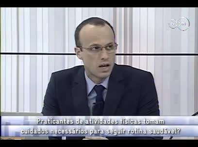 Conversas Cruzadas - Saúde e segurança dos esportistas - 3º bloco – 16/10/2013