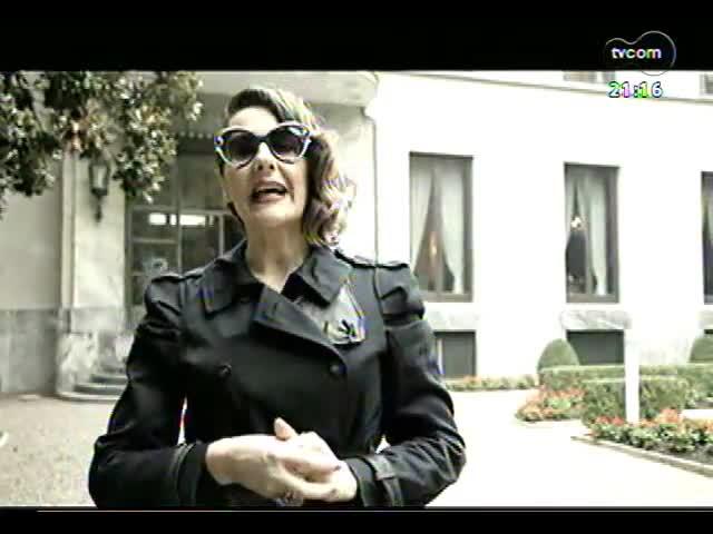 """TVCOM Tudo Mais - \""""As Patrícias\"""": direto de Milão, Patrícia Parenza mostra uma casa que é relíquia da cidade"""
