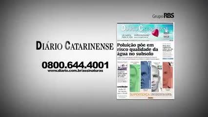 Chamadas Diário Catarinense 22 de novembro de 2013