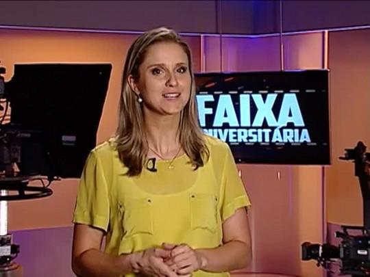 Faixa Universitária - Confira um vídeo sobre a convivência entre surdos e ouvintes e a cobertura do movimento #Partiu