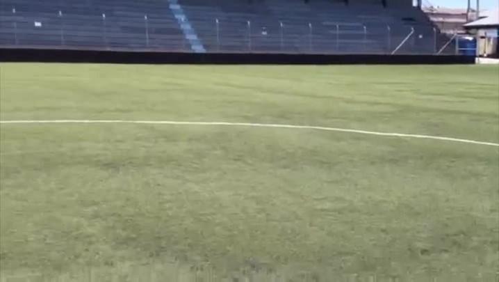 Temperatura passa dos 50ºC no estádio Passo D\'Areia. 19/01/2014