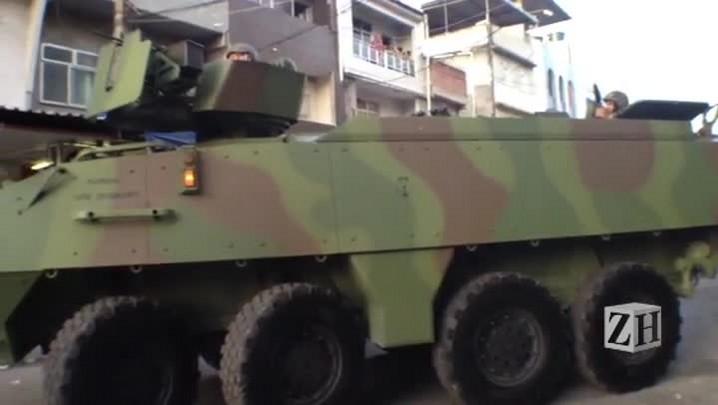 Forças Armadas auxiliam ocupação no Rio