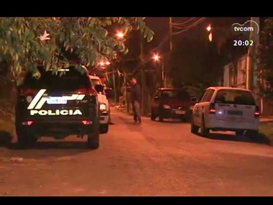 TVCOM 20 Horas - Tráfico de drogas e disputa por território aumenta o número de homicídios no RS - Bloco 1 - 25/04/2014
