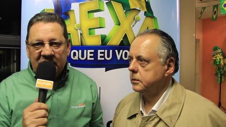 Fernando Carvalho se surpreende com show da Holanda
