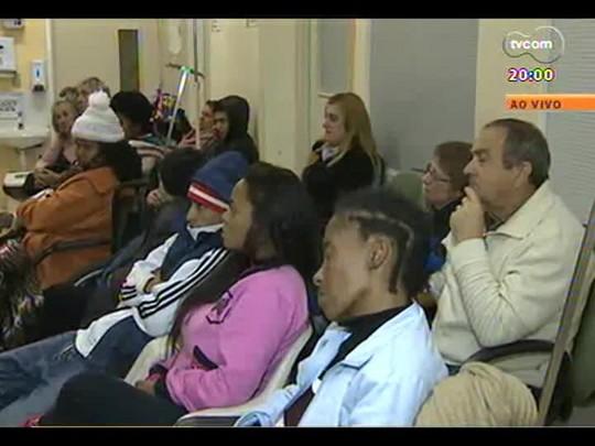 TVCOM 20 Horas - Ronda na saúde: A superlotação dos hospitais e a ampliação do Hospital de Clínicas - Bloco 1 - 10/07/2014