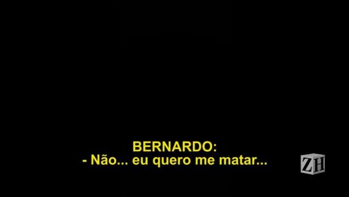 9. Parecendo dopado, Bernardo pede desculpa à madrasta