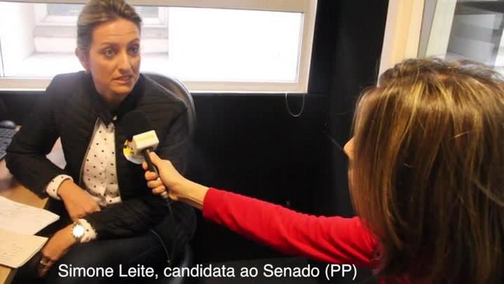 Fala candidato: Simone Leite diz que política é a possibilidade de mudança