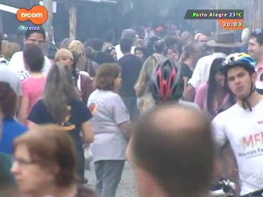 #PortoA - Sol e calor levam grande movimento ao Acampamento Farroupilha