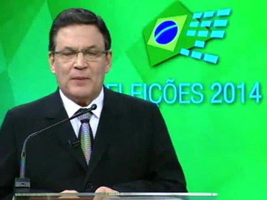 Eleições 2014 - Debate entre os candidatos ao Senado - bloco 3
