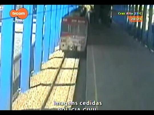 TVCOM 20 Horas - Divulgadas imagens de briga no Trensurb após o Gre-Nal - 13/11/2014