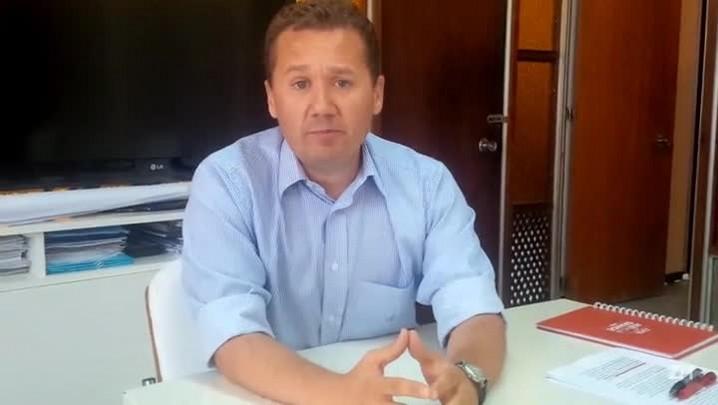 Secretário Mauro Zacher fala sobre as obras na Capital