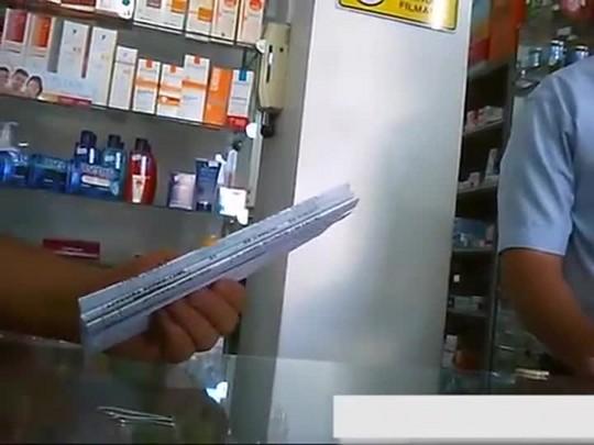 Flagrante do esquema de superfaturamentos de medicamentos em Santa Maria