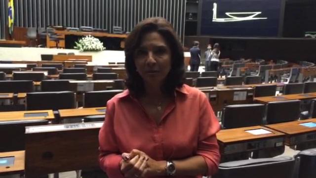 """Carolina Bahia: \""""Reação a discurso de Dilma mostra que aprovar CPMF é quase impossível\"""""""