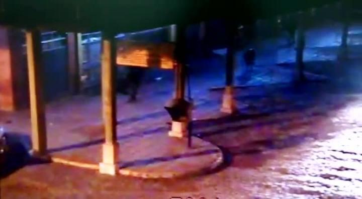 C�meras flagram assalto a cadeirante em Vacaria
