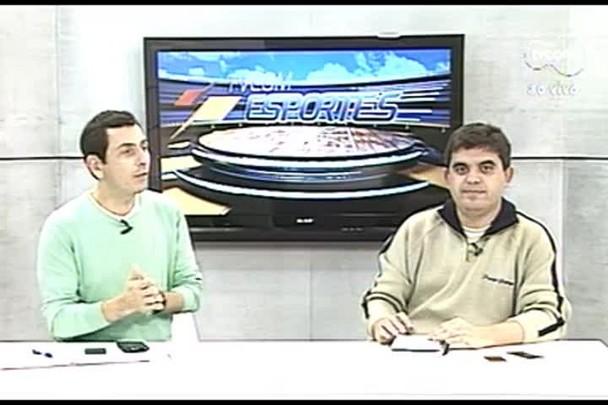 TVCOM Esportes. 2º Bloco. 13.07.16