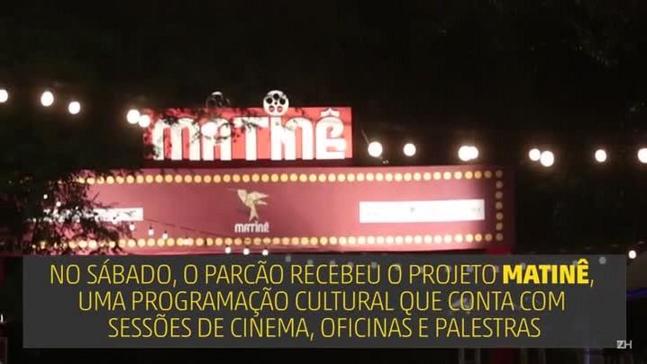Evento promove sessões de cinema ao ar livre no Parcão