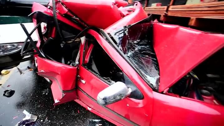 Acidente em Sapucaia do Sul congestiona RS-118