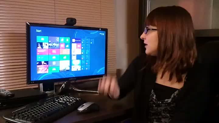 Comentário de Vanessa Nunes sobre o Windows 8