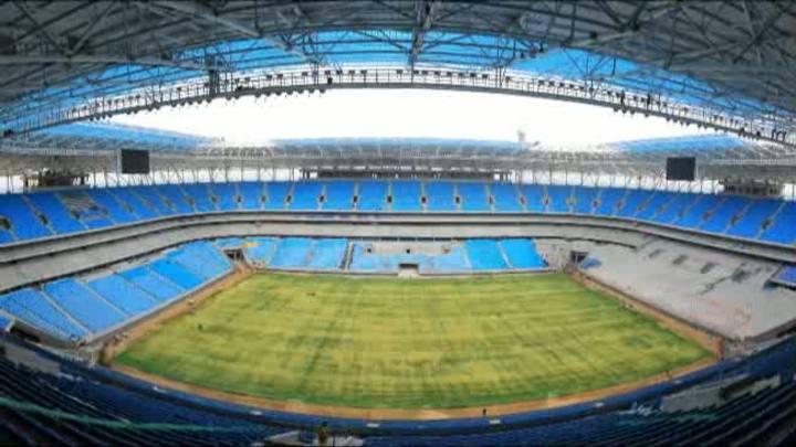 Confira como será a inauguração da Arena