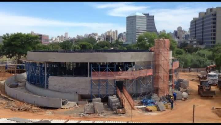 Primeira obra de Niemeyer em Porto Alegre deve ficar pronta em 2013