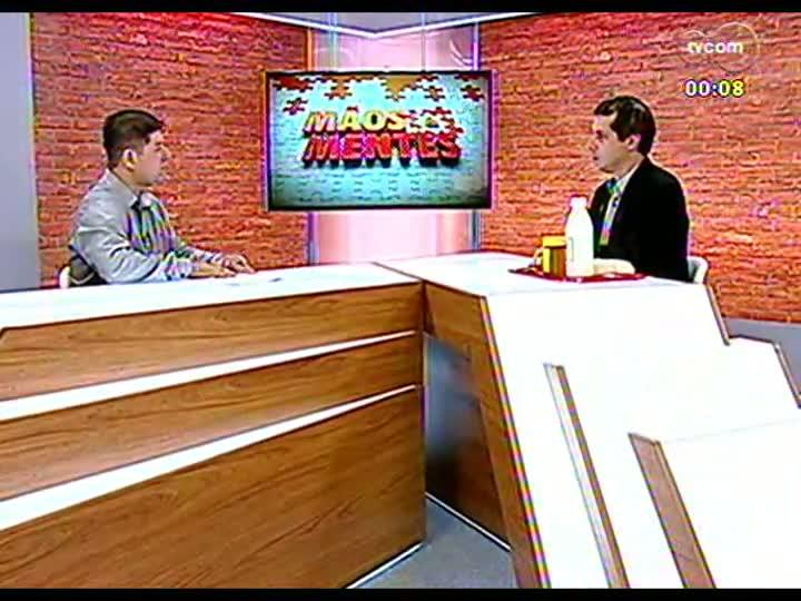 Mãos e Mentes - Diretor da Escola Técnica de Agricultura, Evandro Cardoso Minho - Bloco 4 - 05/04/2013