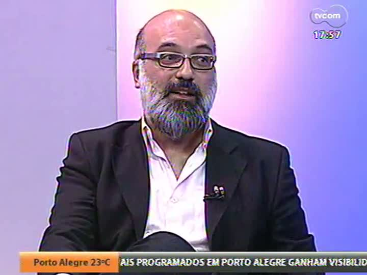 Programa do Roger - Entrevista com os atores Denise Fraga e César Troncoso e com a diretora Tata Amaral sobre o filme Hoje - bloco 2 - 19/04/2013
